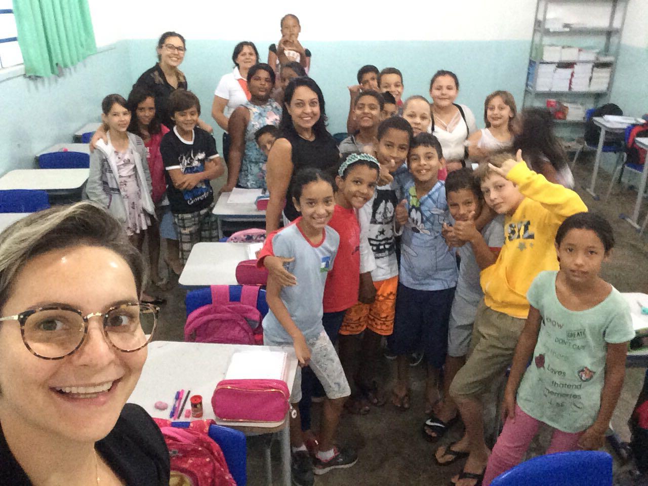 Sinop visita escolas